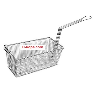 (W9-4) Pitco P6072185 Fryer basket