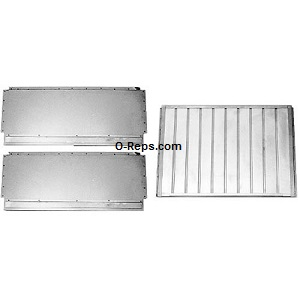 (W3-5) Blodgett 4644 Deflector 3 piece steel