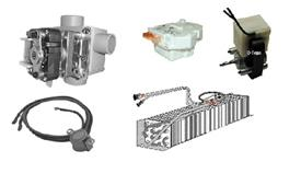 Perlick Parts Evaporator coils Motors hinges latches