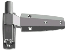 (P6-7) W60-1000X Spring assisted hinge flush