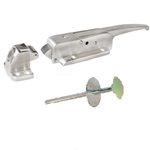 (A2-3c)Kason 0778CL006020-C Latch flush with key & inside release S.S.