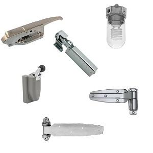 Walk In Cooler Door Hardware Complete List Of Hardware