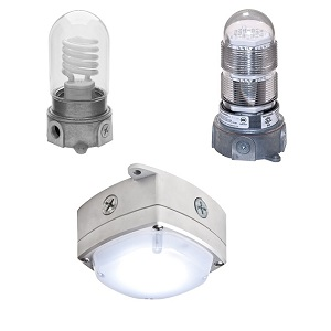 Vapor Proof Light Fixture For Walk In Coolers And Freezers
