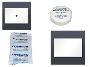 Frypowder and cleaners