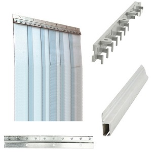 Pvc Strip Curtain Kits Walk In Cooler Curtains Strip