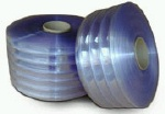 "(C5-6) R807 PVC Roll Stock Ribbed 8""W .07 mil 150' roll"